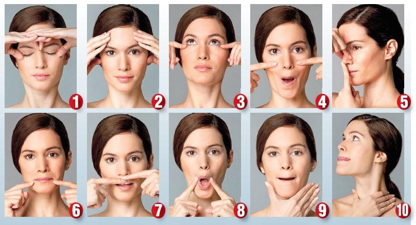 Как сделать подтянутой кожу на лице