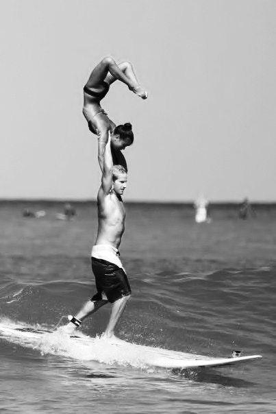 Йога и серфинг 27 йога фото
